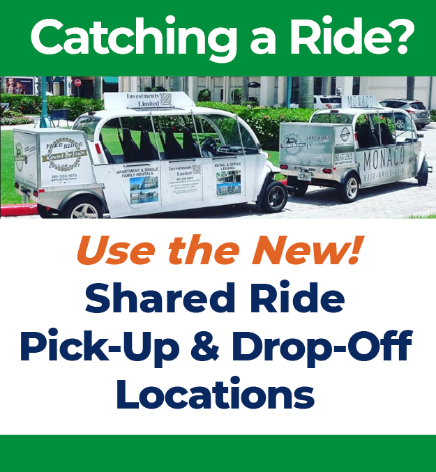 Shared Ride Pick-Up and Drop-Off Locations