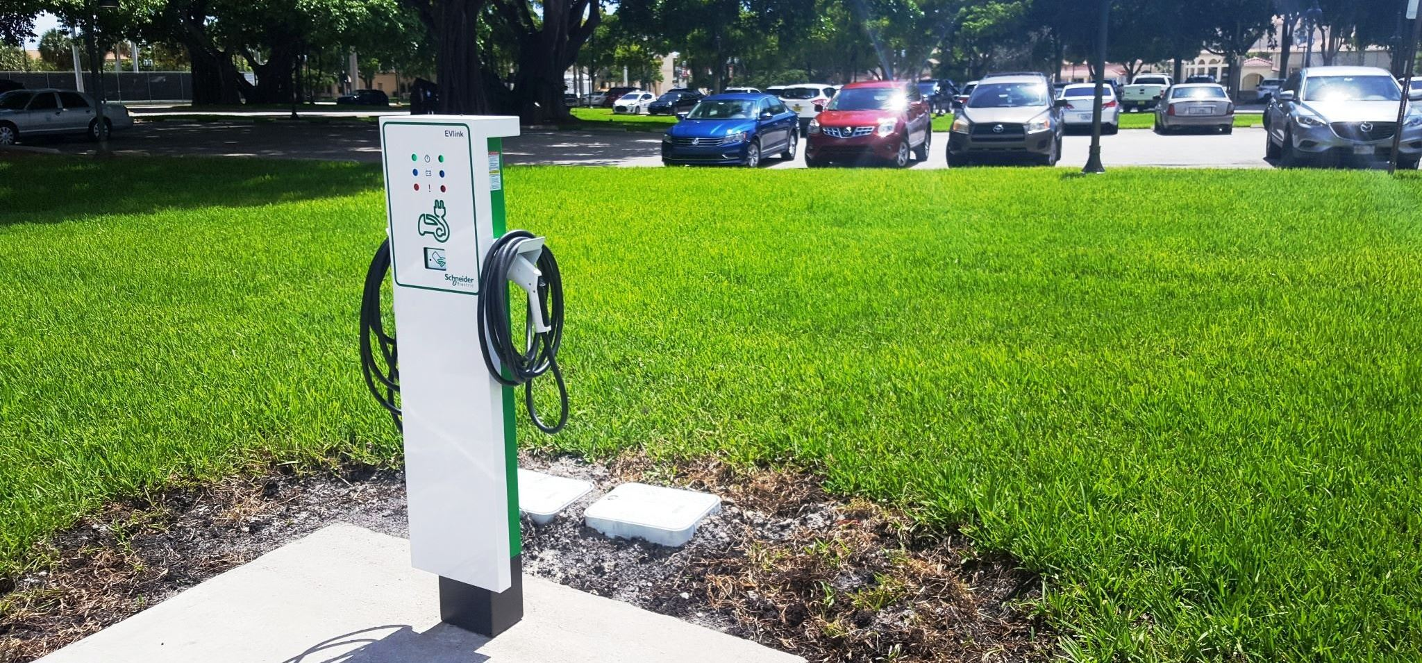 EV Charging Station at City Hall